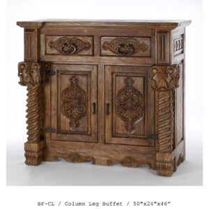 BF-CL-Column-Leg-Buffet-50_x24_x46""